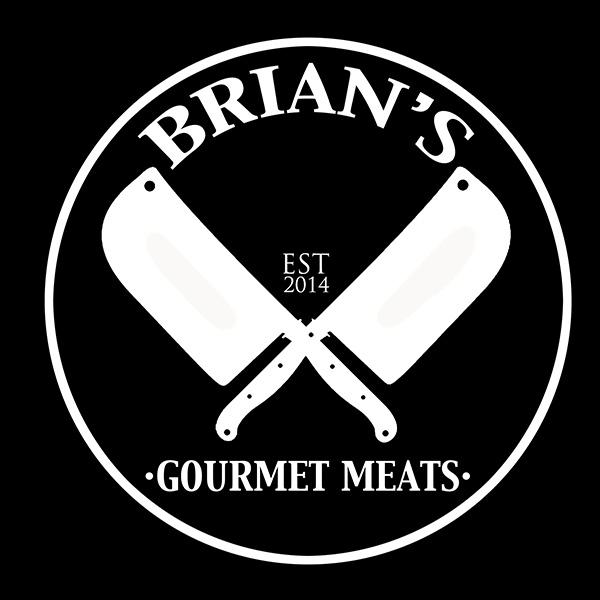 Brians Gourmet Meats Retina Logo