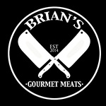 Brians Gourmet Meats Sticky Logo